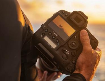 Canon EOS 1Dx Mark III : ouverture.