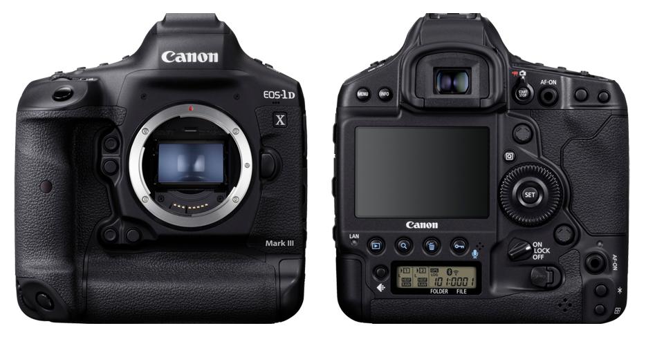 Canon EOS 1Dx Mark III : produit.