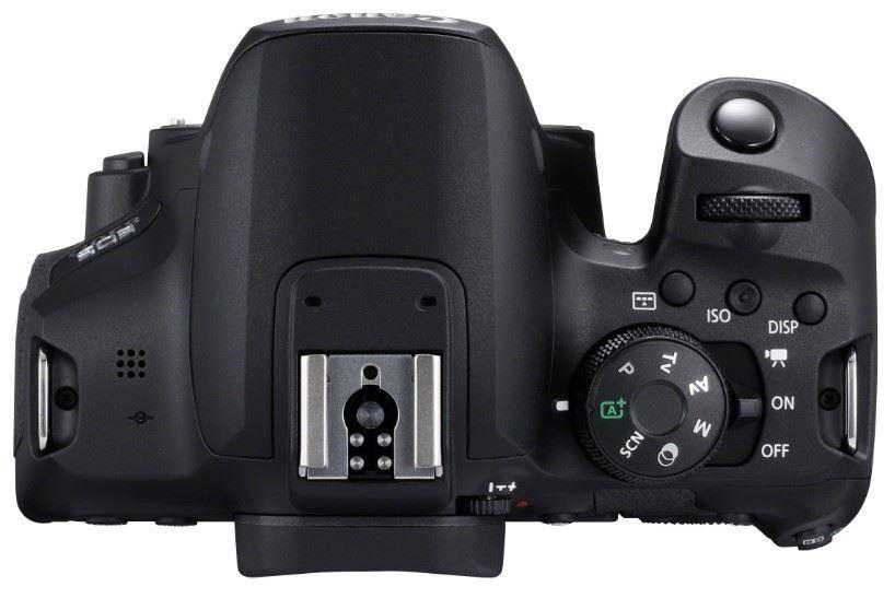 Canon EOS 850D : dessus.