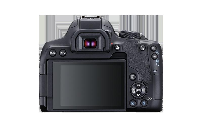 Canon EOS 850D : dos.
