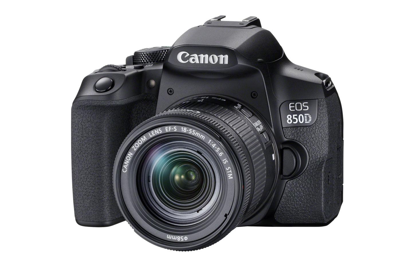 Canon EOS 850D : face.