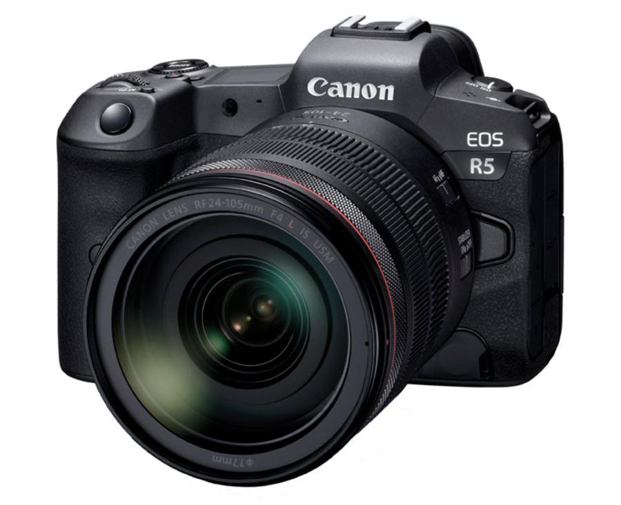 Canon EOS R5 et 24-105 mm
