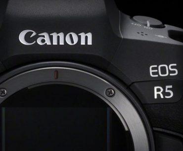 Canon EOS R5 : ouverture.
