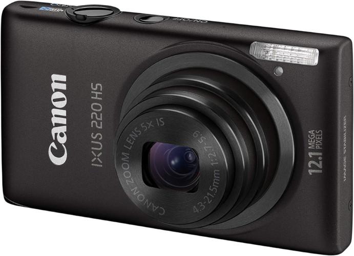 Canon Ixus 220HS, compact classique