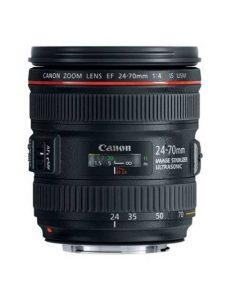 Objectif photo Canon ef 24-70 mm f/4 L (9,3 cm - 600g)