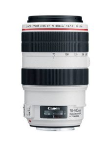 Objectif photo Canon ef 70-300 mm f/4-5.6 is usm (14,3 cm - 1kg)