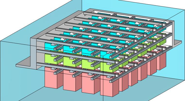 Capteur Foveon x3, à trois couches de photodiodes