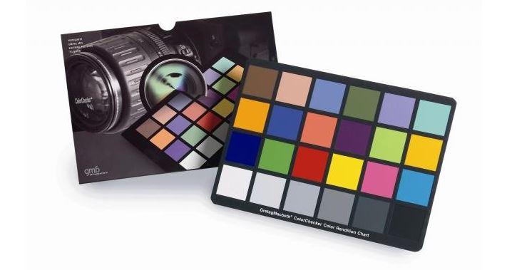 Charte de couleurs Color Checker de chez Xrite