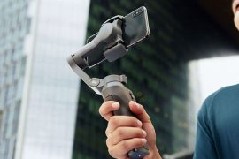 DJI Osmo Mobile 3 : ouverture.