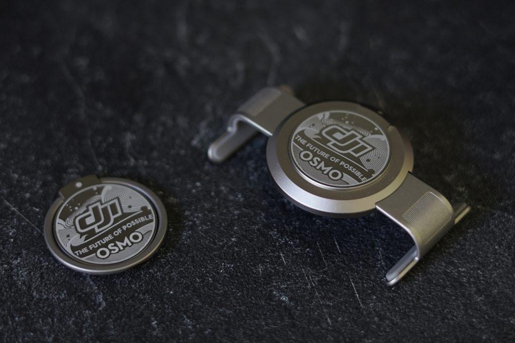 L'anneau magnétique et la bride de smartphone