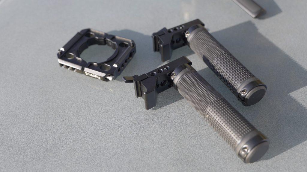 Pièces pour la double poignée SmallRig avec rails NATO