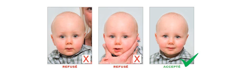 Norme photo d'identité : regard et position de la tête