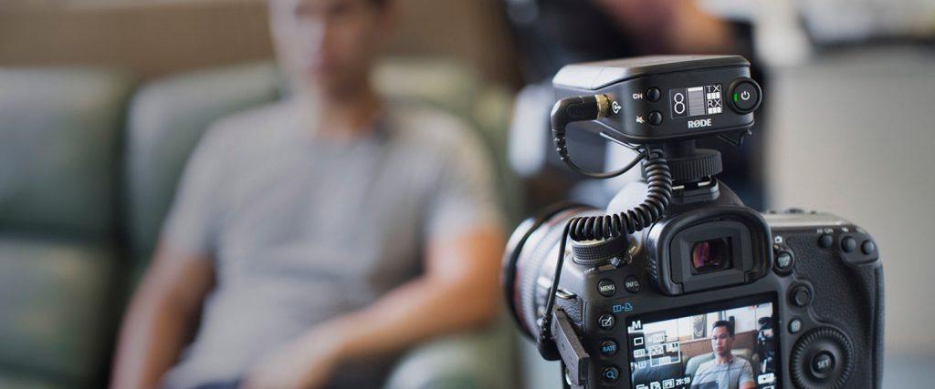 micro HF Rodelink filmmaker kit