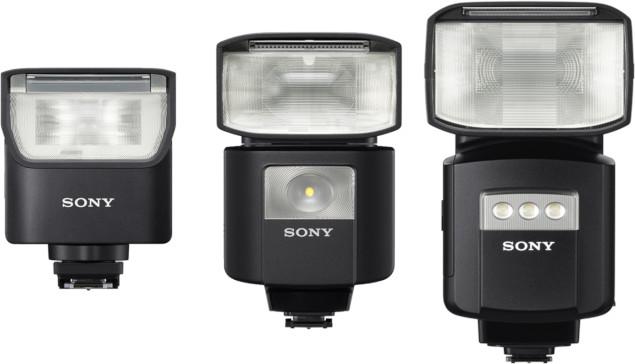 Gamme de flashs Sony F28RM, F45RM et F60RM