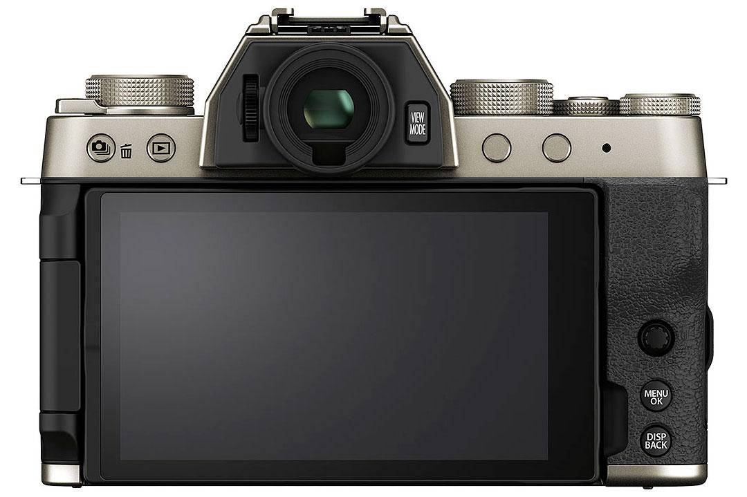 Le Fujifilm X-T200 : dos.