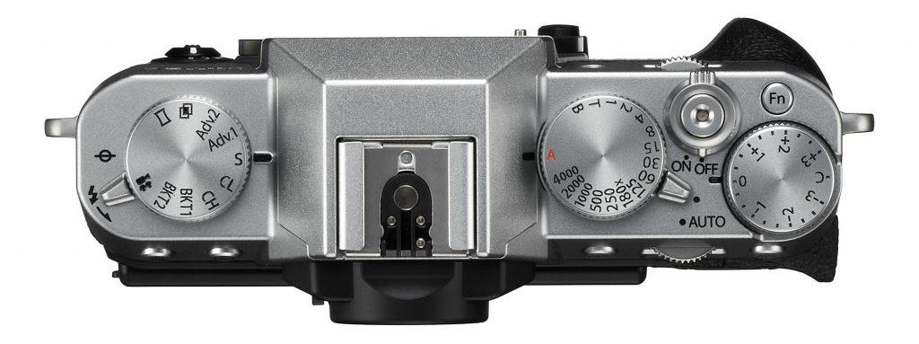Fujifilm X-T20 avec molette de temps de pose