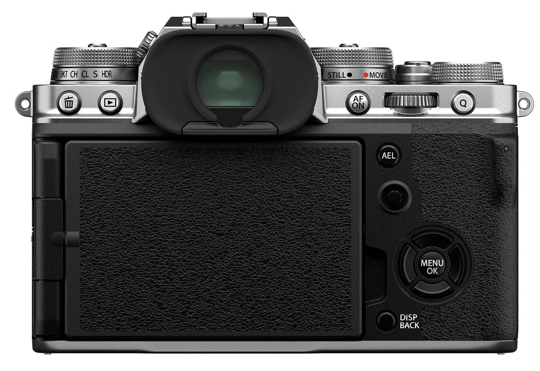 Fujifilm X-T4 : arrière.