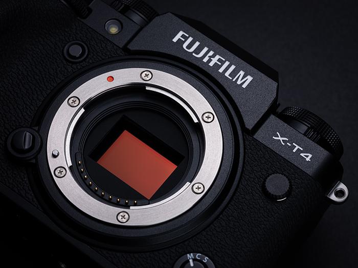 Fujifilm X-T4 : capteur.
