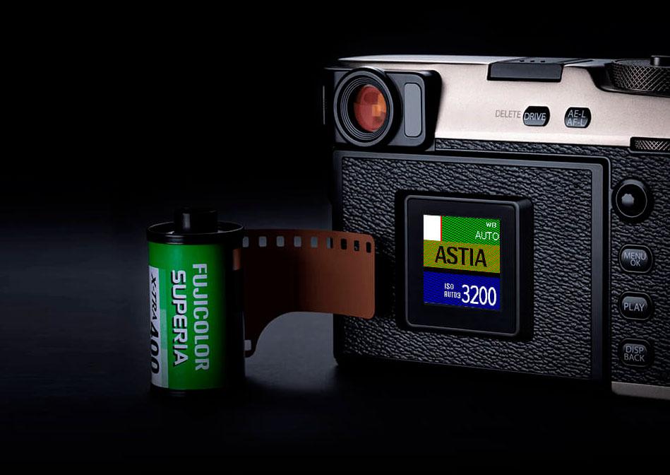 Fujifilm X-Pro3 : simulation.