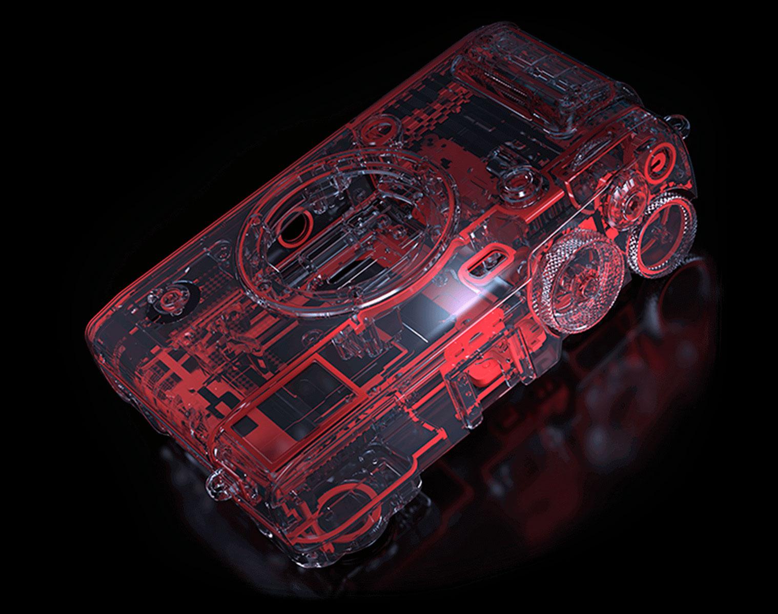 Fujifilm X-Pro3 : joints.