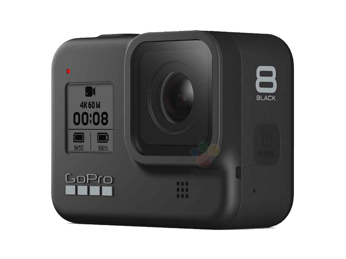 Guide action cams : GoPro Hero 8 black.