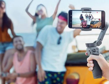 gimbal smartphone : ouverture.