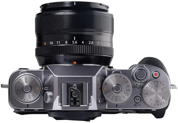 Commandes du Fujifilm X-T1