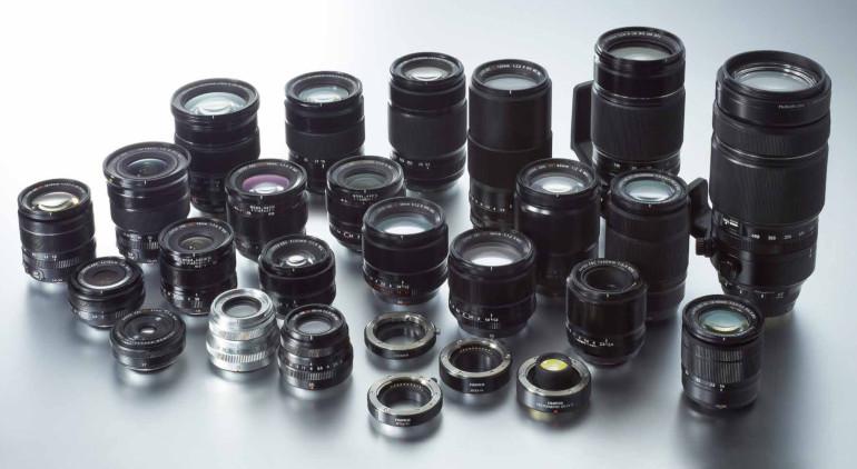 Optiques Fujifilm X