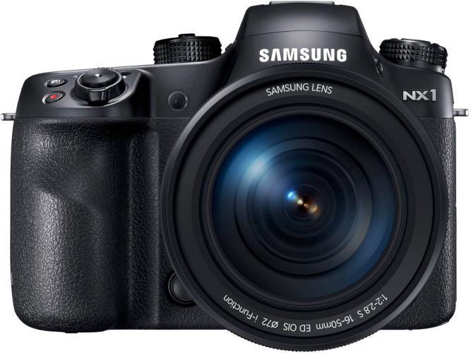 Hybride APS-C Samsung NX1 et 16-50 mm