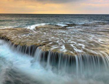 la mer en pose longue