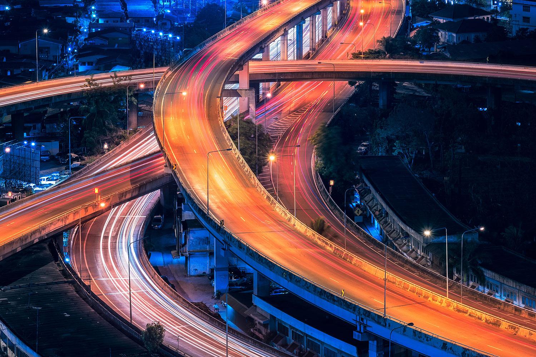 Photo d'architecture : dynamisme.