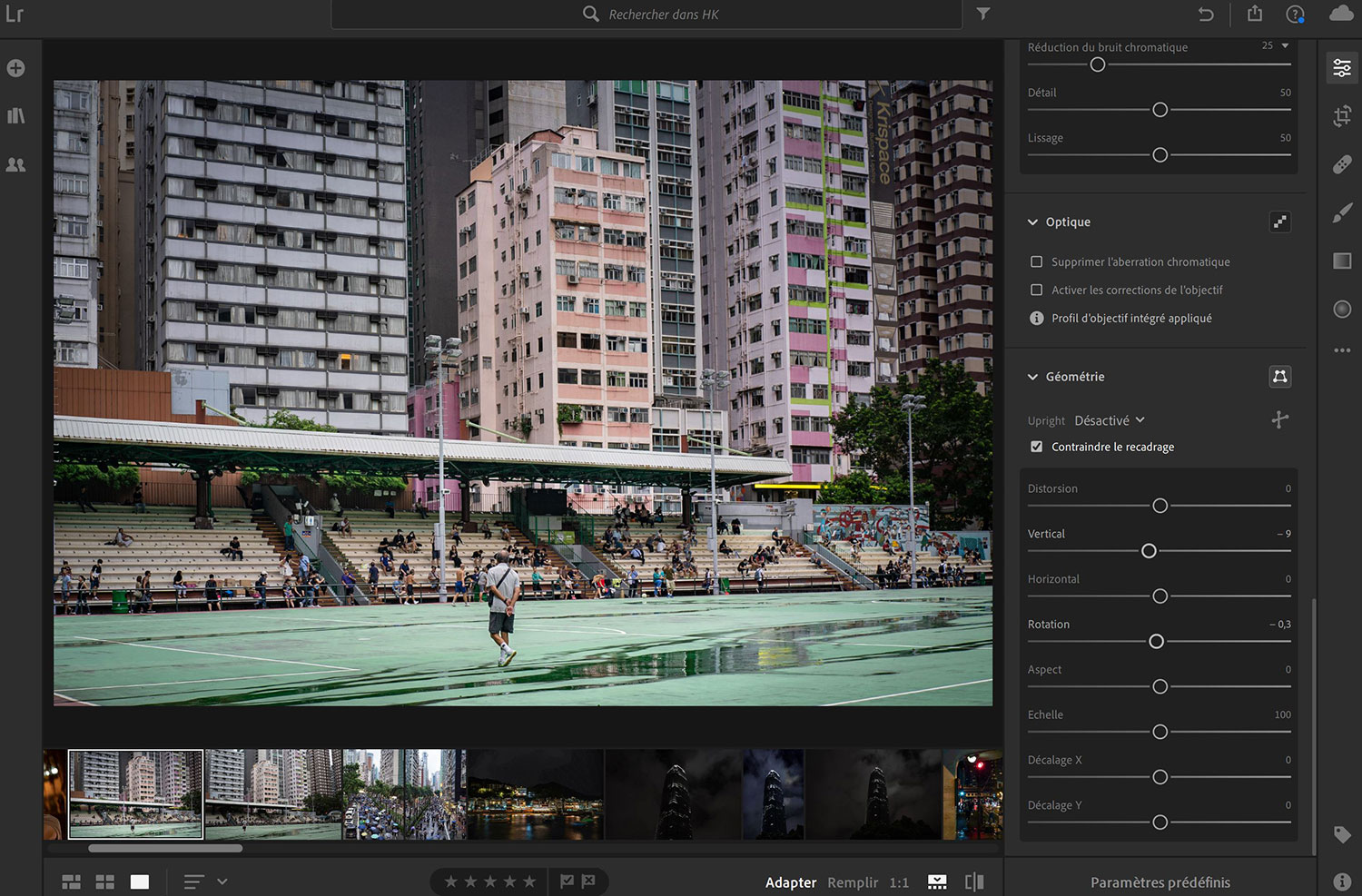 Photo d'architecture : postproduction.