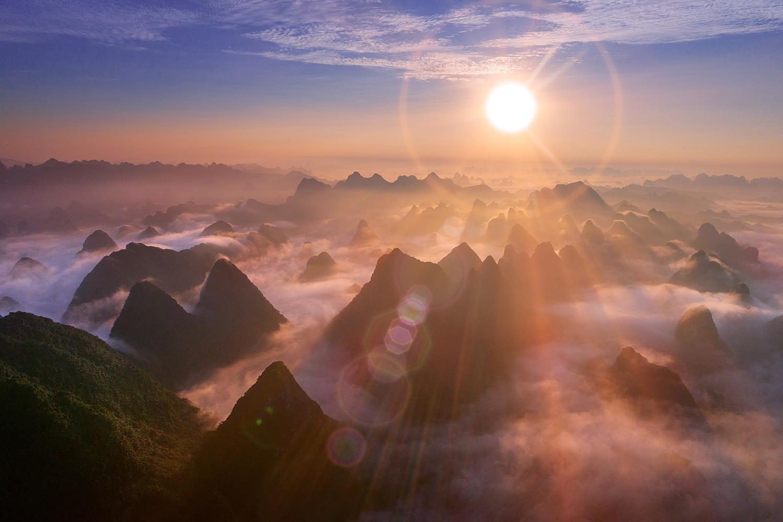 Flare : paysage.