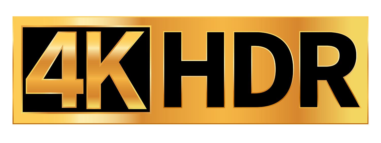 Les définitions d'affichage : 4H HDR.