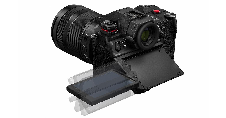 Panasonic Lumix S1H : écran orientable