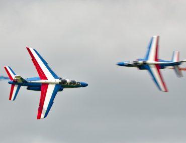 """""""Percussion"""" entre deux Dassault Alpha-Jet de la Patrouille de France"""