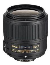 Objectif photo Nikkor 35 mm f/1,8 G (7,1 cm - 305g)