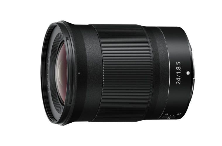 Nikkor Z 24 mm f/1,8 S : produit.