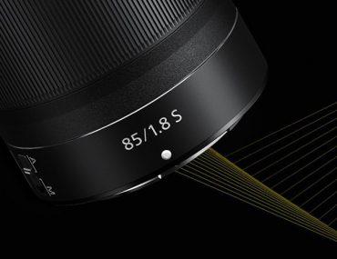 Ouverture Nikkor Z 85 mm f/1,8 S.