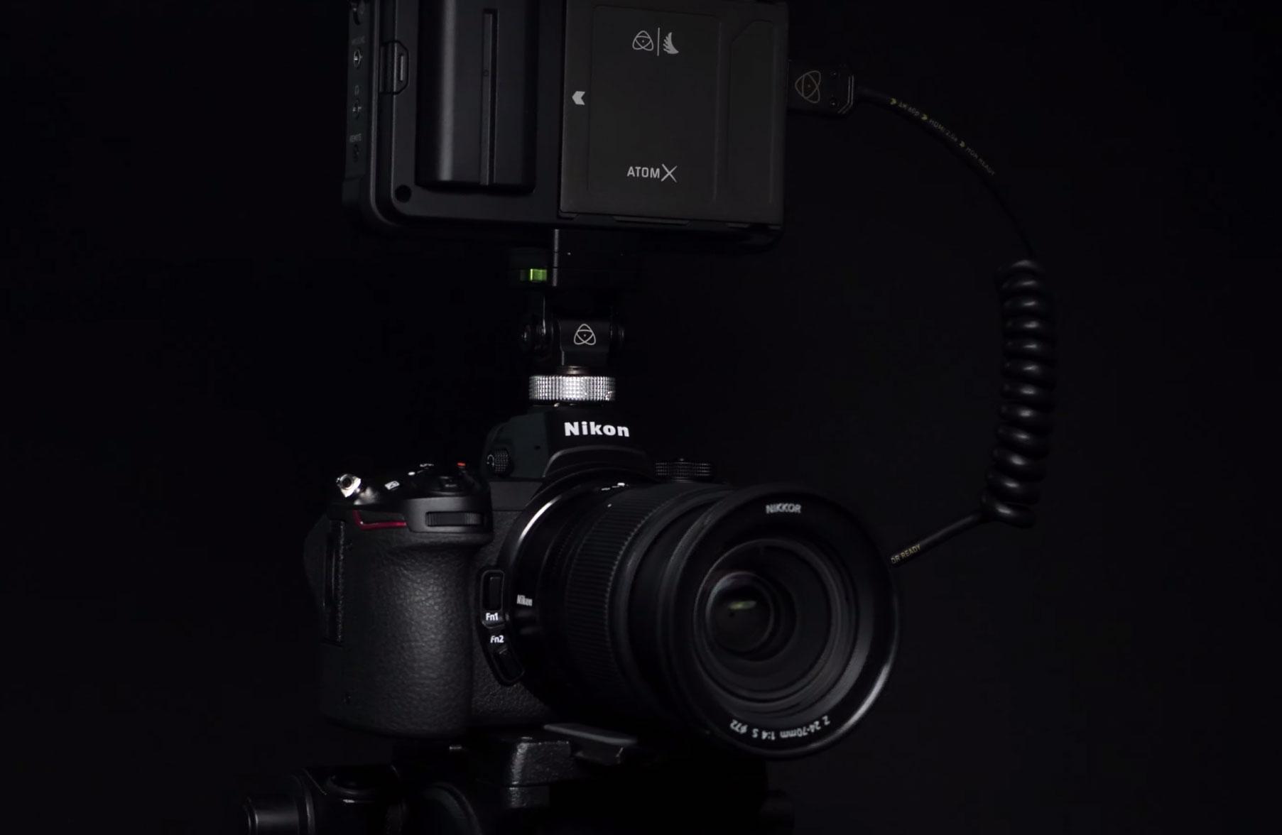 Nikon Z6 kit cinéma.