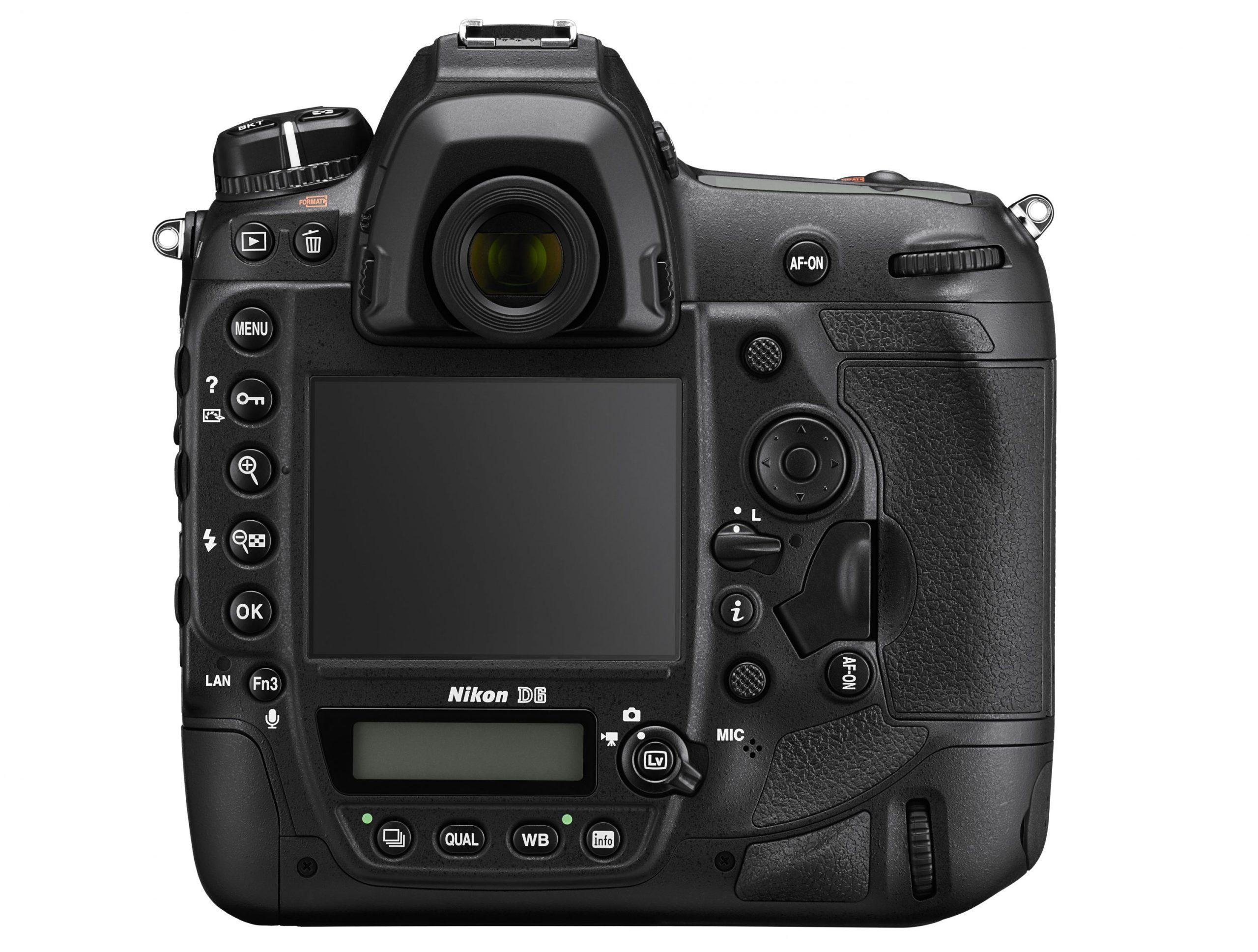 Nikon D6 : dos.