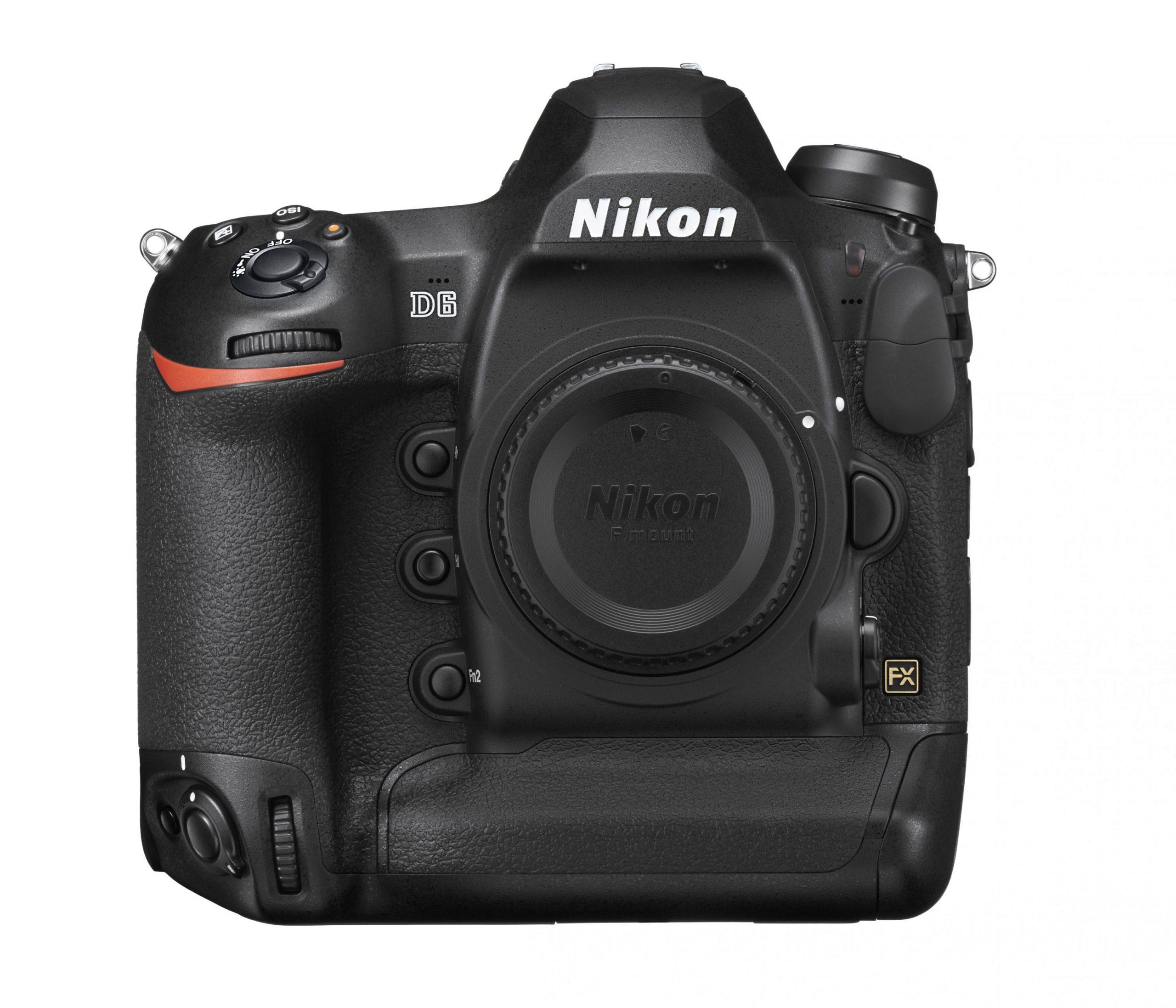 Nikon D6 : face.