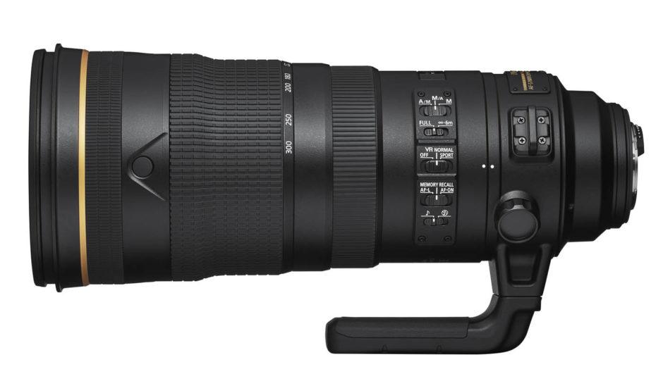 Nikon D6 : optique.