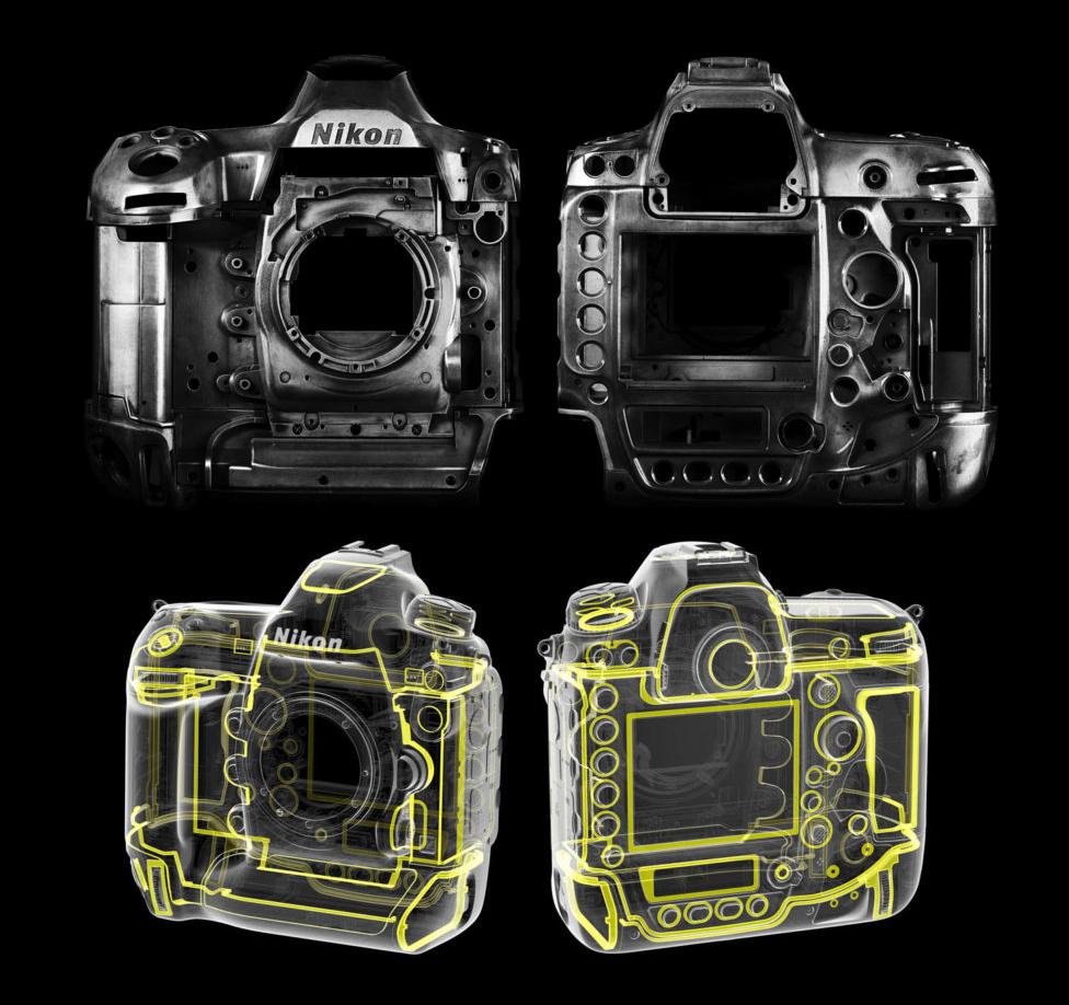 Nikon D6 : protections.