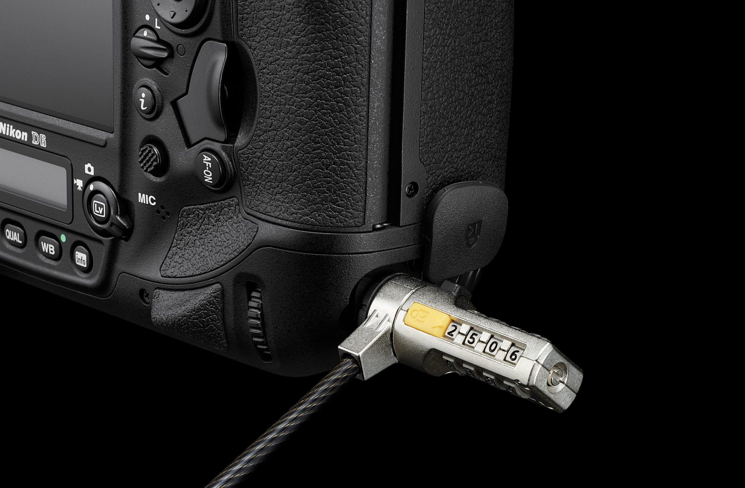 Nikon D6 : verrou.