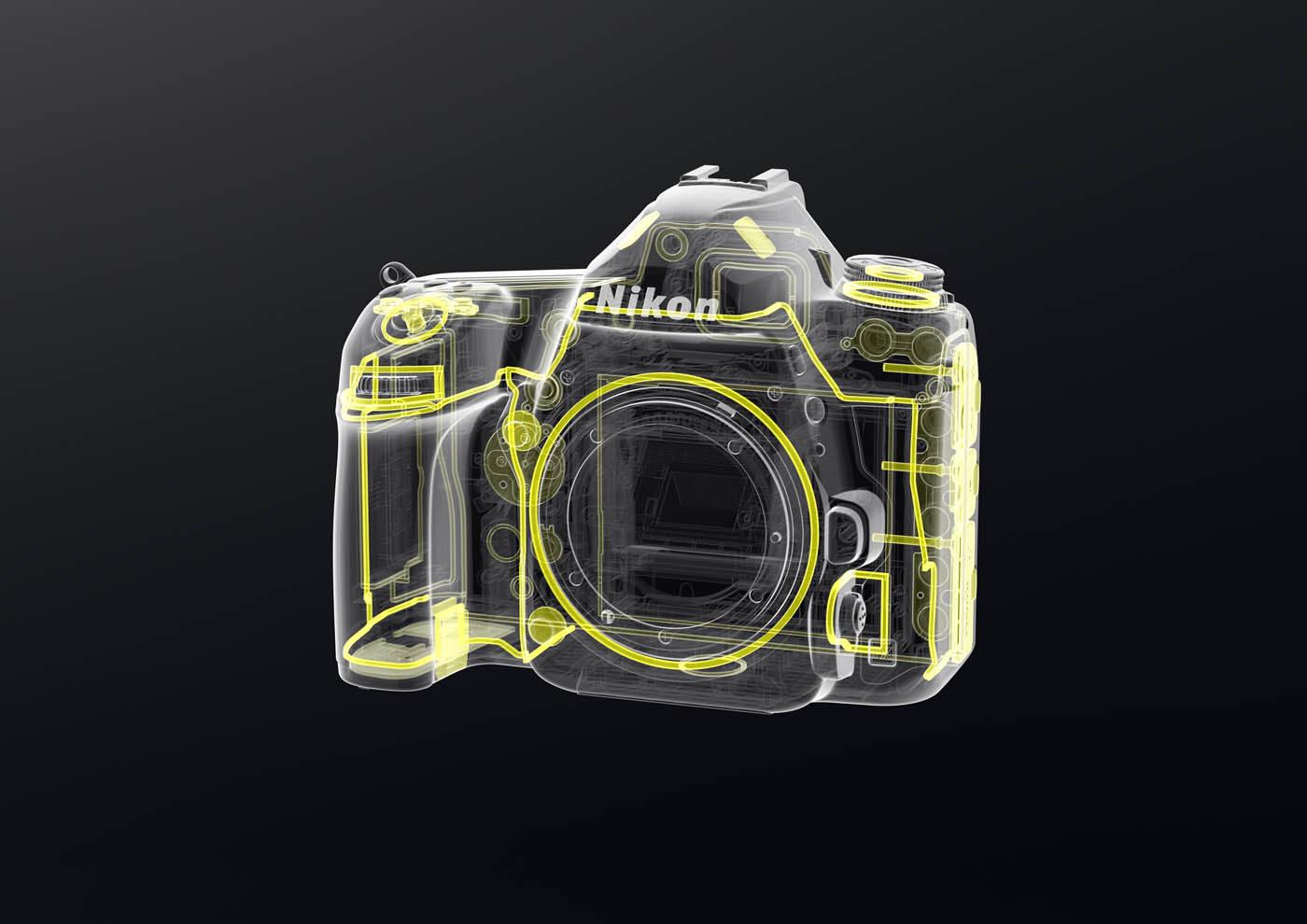 Nikon D780 : joints.