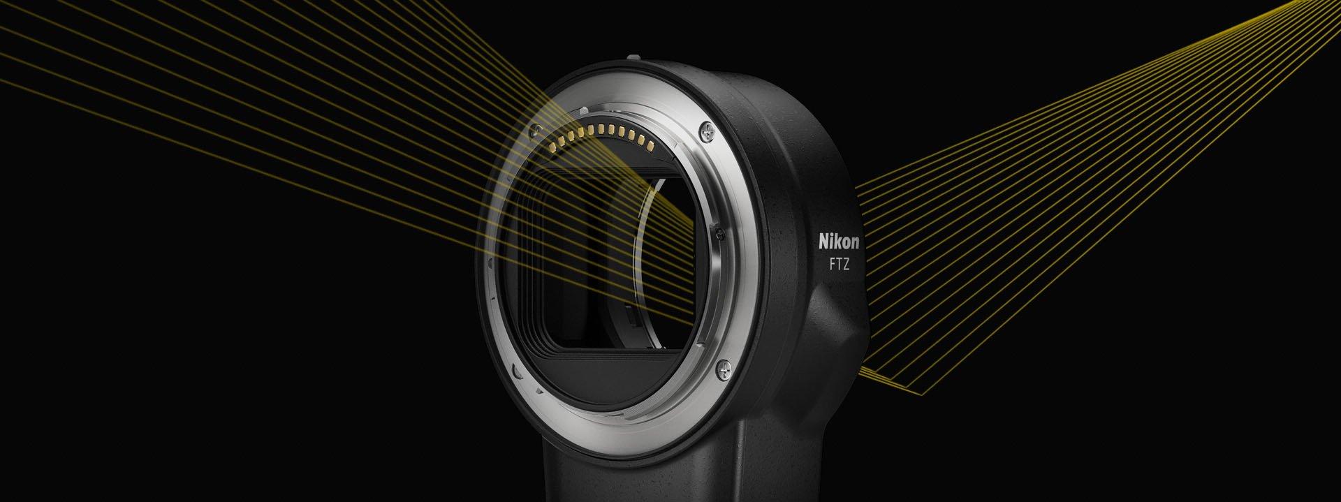 Nikon FTZ.