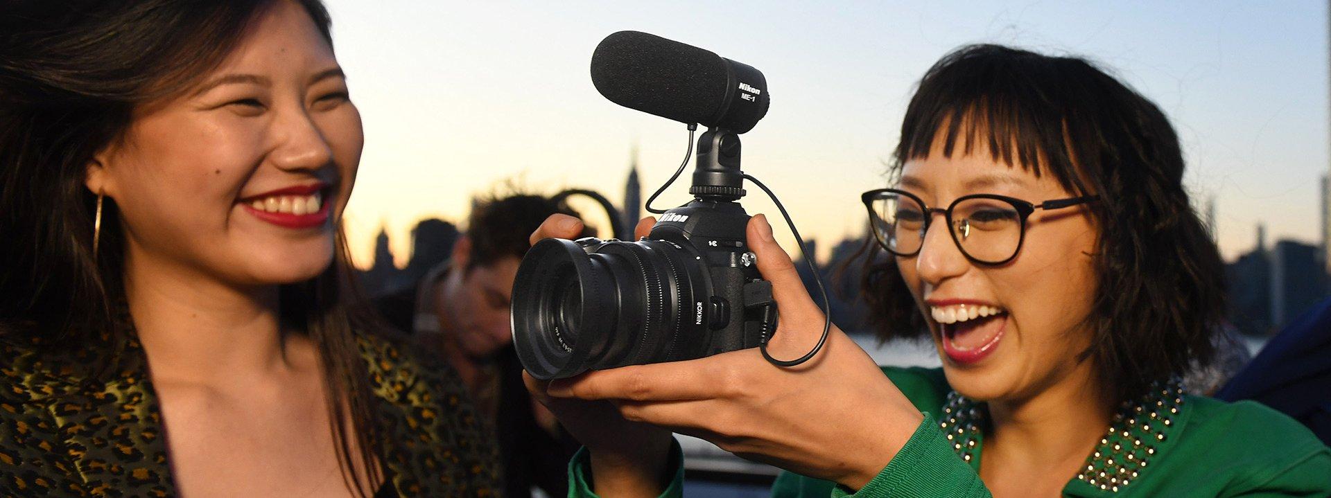 Nikon Z50 : vidéo.