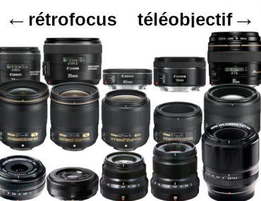 Gammes Canon, Nikon et Fujifilm