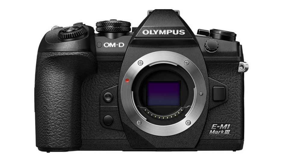 Olympus OM-D E-M1 Mark III : face.